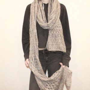 UO Loose Knit Scarf